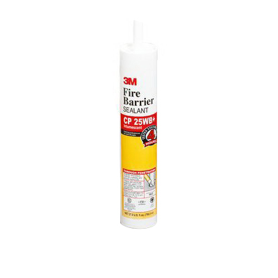 3M CP-25WB+27OZ Fire Barrier Sealant With Caulk; 85 psi, Red