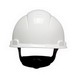 3M H-701R-UV Non-Vented Cap Style Hard Hat With Uvicator Sensor; 4-Point Ratchet Suspension, Class C/G/E Dielectric, HDPE, White, 20/CS
