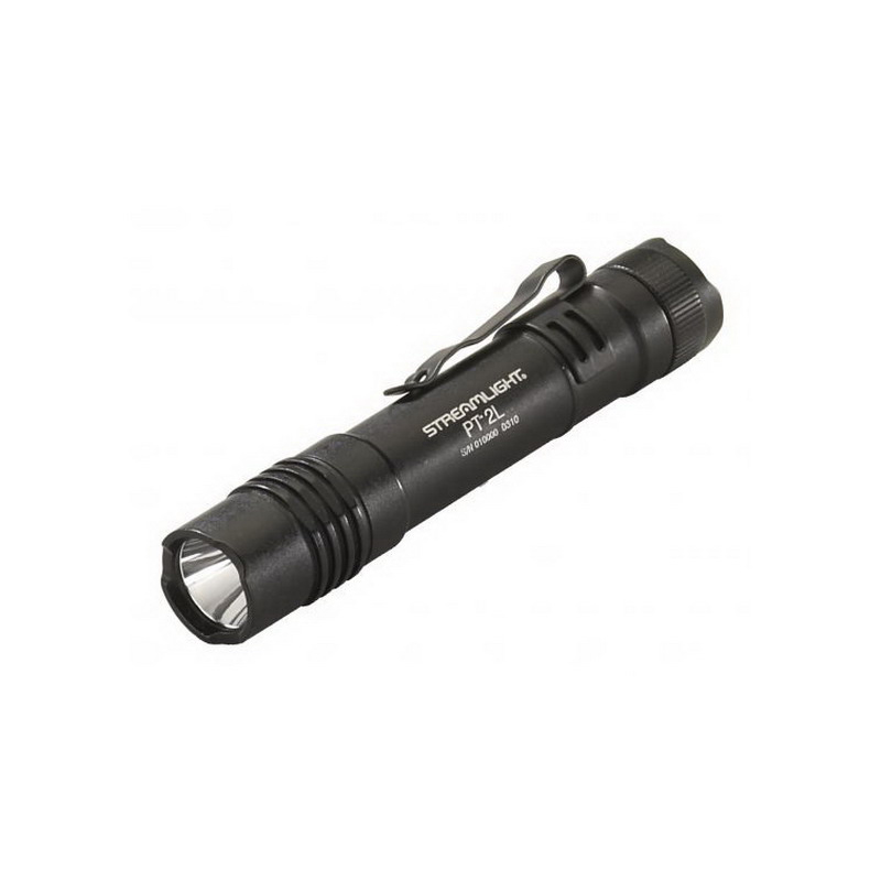 Streamlight 88031 ProTac® Professional Tactical Light; 3 Volt, Tempered Glass Lens, CR123A Lithium (Included) Batteries, Aluminum, Black