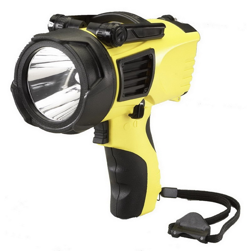 Streamlight 44900 Waypoint® 3 Mode Non-Rechargeable Pistol Grip Spotlight; 12 Volt, Polycarbonate Lens, Yellow