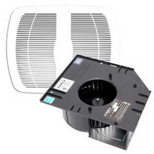 Air King AK80MBG Exhaust Fan Contractor Pack AK Series; 27.5 Watt, 120 Volt, 0.31 Amp, 1033 RPM, 80 cfm At 0.1 Inch/70 cfm At 0.25 Inch, Ceiling Mount, White