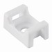 Hellermann Tyton CTM010C2 Cable Tie Mount; 0.580 Inch x 0.370 Inch, Polyamide 6.6, White