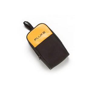 Fluke C25 Soft Meter Carrying Case; Zipper Closure, Vinyl, 1 Pocket, For 25/27/8025A Digital Multimeters
