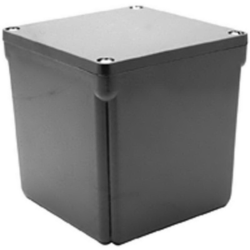 Scepter 078247 JB666 Junction Box; 6 Inch Width x 6 Inch Depth x 6 Inch Height, PVC, Screwed Cover