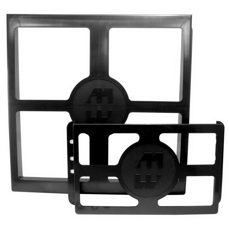 Hammond PKT1212 PKT Series Literature Pocket 12 Inch Width x 2.500 Inch Depth x 12 Inch Height  Plastic  Black