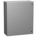 Hammond EN4SD20168GY Eclipse Series Quarter Turn Latch Style Enclosure; 16 Inch Width x 8 Inch Depth x 20 Inch Height, Phosphatized Cover Recoatable Powder Enclosure, (2) Hinge Cover