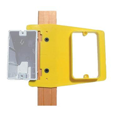 Rack-A-Tiers LJ50R RMI 1/2 Level Jack; Plastic, Yellow