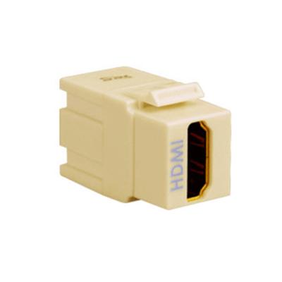 ICC IC107HDMIV Keystone HDMI Module; Female/Female, Ivory