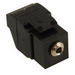 ICC IC107SAPBK 3.5 mm Stereo Audio Module Plug; 0.5 Amp, 50 Volt DC, Black