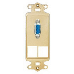 ICC IC107DR2IV Decora Insert; Ivory, Wall Mount