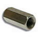 Metallics RCT28 Hex Rod Coupling; 3/8-16, Steel, Zinc Chromate