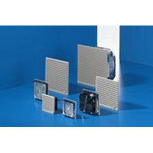 Rittal 3325617 EMC Filter Fan 156 cfm  0.53/0.49 Amp  115 Volt AC  RAL 7035 Light Gray
