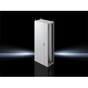 Rittal 8958500 Single-Door TS8 Disconnect Freestanding Enclosure Dipcoat-Primed Powder-Coated Zinc-Plated-
