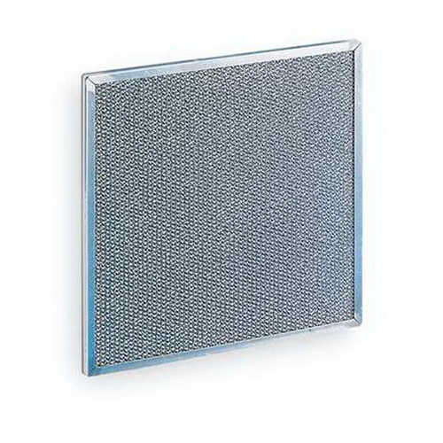Rittal 3286410 Metal Filter Mat; Internal Mount, Aluminum