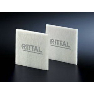 Rittal 3183100 SK Fine Filter Mat; Chemical Fiber, White