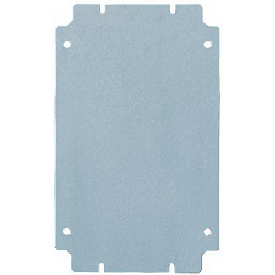 Rittal JBMP1210 Mounting Panel; 14 Gauge Carbon Steel, Fits 10 Inch Width x 12 Inch Height Junction Box