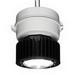 Cooper Crouse-Hinds VMV7L/UNV1 Champ® VMV Series V Optics LED Luminaire; 94 Watt Input, 120 - 277 Volt AC, 108-250 Volt DC, 0.80-0.42 Amp, Epoxy Powder Coat Housing and Adapter