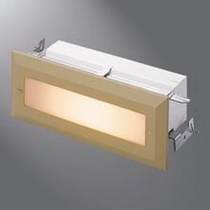 Cooper Lighting H2925T Halo® Non-IC Brick Light/Aisle Light; 20 Watt, Flat Unbreakable Lens, Die-Cast Trim, Brown
