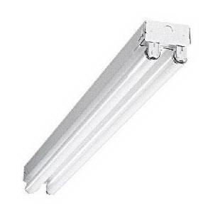 Cooper Lighting 8TSS-232-UNV-EB81-U Metalux® 2-Light Strip Light; 64 Watt, 120/277 Volt, Stainless Steel