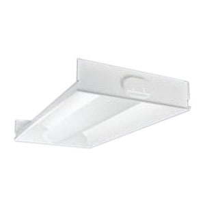 Cooper Lighting 2RDI332RPUNVEB81U Metalux® 3-Light Fluorescent Fixture; 96 Watt, 120 - 277 Volt, Recessed Center Mount, Matte White