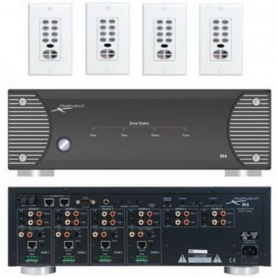 Proficient M4 MultiRoom Controller; 30 Watt, 8-Channels