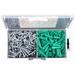 Ebinger ECA4H Conical Anchor Kit; Plastic