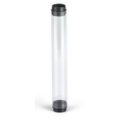 EPCO 17000 Standard Protection Tube Guard with Black End Caps; Unbreakable Lexan Polycarbonate, Clear