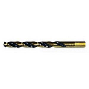L.H. Dottie HS10 Split Point Jobber Length Drill Bit; 5/32 Inch, 3-1/8 Inch OAL, M2 High Speed Steel