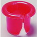 L.H. Dottie 2 Anti-Short Bushing; 7/16 Inch, Plastic, Red