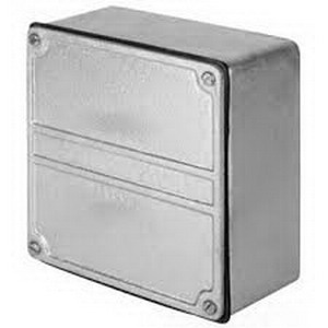Appleton W-YS-101004 W Series WYS Type Unflanged Junction/Pull Box 10 Inch Width x 4 Inch Depth x 10 Inch Height  Hot Dip Galvanized