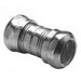 Bridgeport 268 Coupling; 3-1/2 Inch, Steel, Electro-Plated Zinc