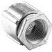 Bridgeport 1121-AL Coupling; 1/2 Inch, Aluminum, Threaded