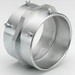 Bridgeport 246-US Coupling; 2-1/2 Inch, Malleable Iron, Electro-Plated Zinc