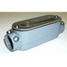 Bridgeport C-46CGC Series 5 Type C Combination Conduit Body With Cover and Gasket; 2 Inch, Aluminum, Set-Screw x FNPT