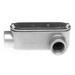 Bridgeport LL-49CG Series 5 Type LL Conduit Body With Cover and Gasket; 3-1/2 Inch, Aluminum, FNPT