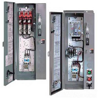 Eaton / Cutler Hammer ECN1812CAC Rainproof Size 1 Combination Non-Reversing Starter 480 Volt  3 Phase  Panel Mount