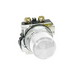 Eaton / Cutler Hammer 10250T197LWP24 Heavy Duty Indicating Light Unit; 24 Volt AC/DC, LED Lamp, White
