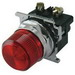 Eaton / Cutler Hammer 10250T197LRP24 Heavy Duty Indicating Light Unit; 24 Volt AC/DC, LED Lamp, Red