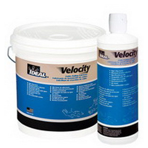 Ideal 31-276 Velocity™ Non-Flammable Cable Pulling Lubricant; 1 qt, Squeeze Bottle, Ivory Translucent