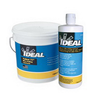 Ideal 31-358 Yellow 77® Non-Flammable Wire Pulling Lubricant; 1 qt, Squeeze Bottle, Yellow