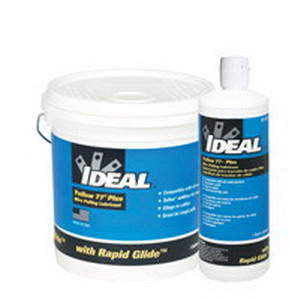 Ideal 31-398 Yellow 77® Plus Non-Flammable Wire Pulling Lubricant; 1 qt, Squeeze Bottle, Yellow
