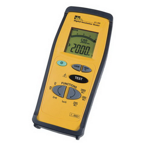 Hand Held Tester : Ideal megger hand held insulation tester