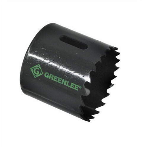 Greenlee 825-1-3/16 Hole Saw Variable Pitch- 1-5/8 Inch Cutting Size- 1-3/16 Inch Hole Dia- Bi-Metal- Steam Oxide-