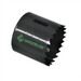 Greenlee 825-1-3/16 Hole Saw; Variable Pitch, 1-5/8 Inch Cutting Size, 1-3/16 Inch Hole Dia, Bi-Metal, Steam Oxide