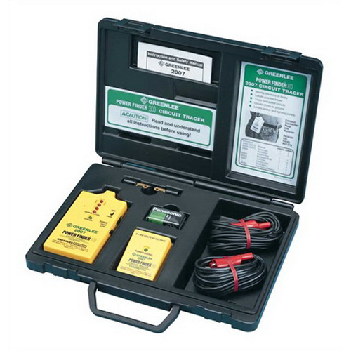 Greenlee 2007 Power Finder Closed Circuit Tracer Kit; 9 - 300 Volt