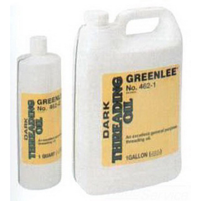Greenlee 463-1 Thread Cutting Oil; 1 gal, Bottle