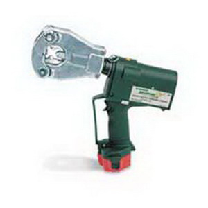 """Greenlee EK06FT11 Battery Operated Crimping Tool Flip-Top Head Dieless 6.200 ton Crimping Force, 2 12 Volt Battery, 14-7/8 Inch Length,"""""""