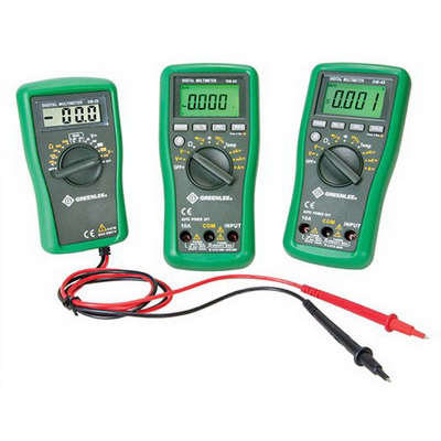 "Greenlee DM-25 Manual Ranging Digital Multimeter 600 Volt,"""