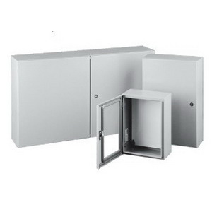 Hoffman A72X7312LPFTC Double-Door Heavy-Duty 3-Point Latch Free-Stand Universal-Cutout Disconnect Enclosure; 73 Inch Width x 12 Inch Depth x 72 Inch Height, Polyester Powder Painted