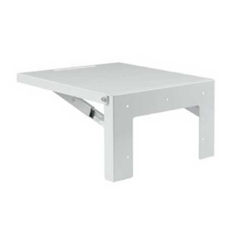 Hoffman Pentair AA35SHLF2424 Large Folding Shelf Heavy Gauge Steel  RAL 7035 Light Gray  Used to Support Instruments and Test Equipment Used to Install and Maintain Electrical Components in an Enclosure